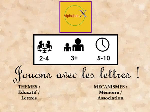[Educatif] AlphabetX (Mise à Jour : 13/01/2010) BandeauAlphabetX