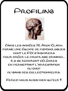 Profiling (Mise à jour le 09/09/2011) Cartepromo